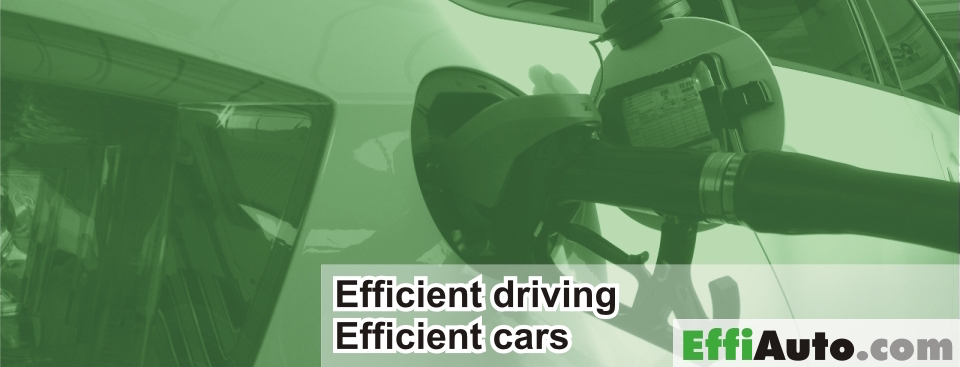 Efficient car and efficient driving